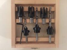 Holzbohrer Tiefenstopp Senker Zapfenschneider Set 8 / 10 / 12 mm CO 30-8733