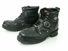 HARLEY DAVIDSON MENS LEATHER BOOTS. SIZE 10