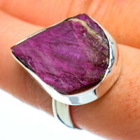 Ruby Fuchsite 925 Sterling Silver Ring Size 9 Ana Co Jewelry R40236F