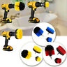3Pcs Grout Power Cleaning Drill Brush Scrubber Tub Tile Cleaner Combo Tool Kit