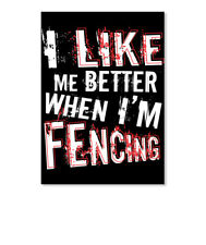 Like Fencing Sticker - Portrait