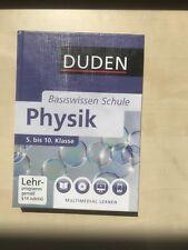 duden basiswissen schule physik 5 bis 10 klasse