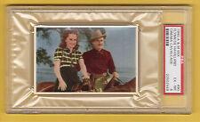 Olivia De Havilland Errol Flynn Dodge City 1940 Wix Card #90 PSA 6 EX-MT