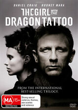 The Girl With The Dragon Tattoo (DVD, 2012)PLEASE NOTE VIDEO STORE ARTWORK IE BL