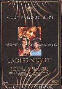 LADIES NIGHT - 21 FEMALE ARTISTS - TINA, DUSTY, CHAKA & MORE  DVD - FREE POST UK