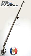 Main courante 1055mm Tube de 20mm inox 316 Ref MA516