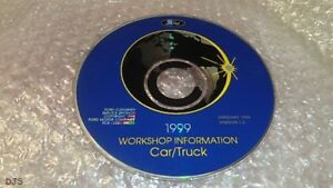 OEM 1999 FORD MUSTANG & ALL CARS & TRUCK F150-F550 SERVICE MANUAL ON CD CV