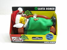 "NEW THE SIMPSONS ""SANTA HOMER"" XMAS STUFF SAYS SEVERAL PHRASES 2004 GEMMY"