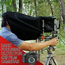 Black Dark Focusing Cloth for 4x5 Film Cameras  - BRAND NEW