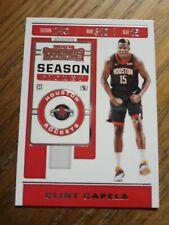 2019-20 Panini Contenders Season Ticket Clint Capela #18 Houston Rockets