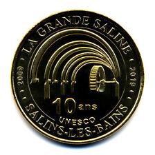 39 SALINS-LES-BAINS Grande saline 5, Unesco - 10 ans, 2019, Monnaie de Paris