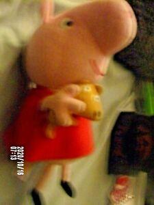 "Ty Beanie Babies PEPPA PIG 7"" Beanbag Plush Stuffed Toy"