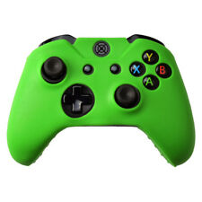 Microsoft Xbox One Controller Case - Ridged Grip Silicone Skin Green