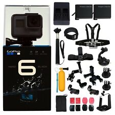 DEAL: GoPro HERO6 +2 batteries &Charger +ALL U Need Accessory Kit. Hero 6 Camera