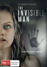 THE INVISIBLE MAN DVD (2020) NEW & SEALED- FREE POSTAGE! REGION 4