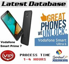 VODAFONE Smart primo 7 vdf600 * codice di sblocco World Wide database