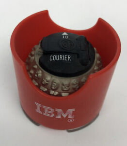 GP  COURIER 10  Typewriter Head Element for IBM Selectric Typewriters - FSTSHP