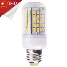 Bombilla E27 LED 96 SMD 5730 Blanco Cálido 220~250V AC - 18W Alta Luminosidad