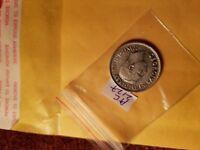 Canada 1943 25 Cent Rare Silver Coin ID#AC2127.