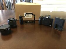 Canon EOS M50 ,Ef-m 15-45mm Lens, Small Rig Camera Cage, Ef-m To Ef Lens Adaptor