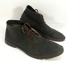 GUC Men's COLE HAAN Brown Suede Leather Chukka Ankle Boots Sz 12 M