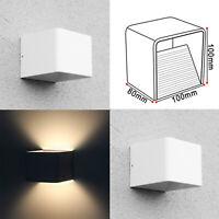 2 x LED Wandleuchte Wandlampe Flur Strahler Licht Up Down Außen/Innen 7W Leuchte