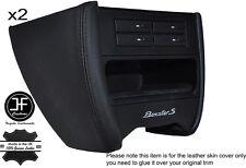 BLACK STCH CONSOLE SIDE TRIM LEATHER COVER FITS PORSCHE 986 BOXSTER CARRERA 996