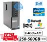Fast PC Computer Dell Optiplex 7010 SFF Intel Core i3 3rd Gen DVD WiFi Windows
