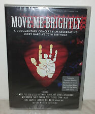 DVD JERRY GARCIA TRIBUTE - MOVE ME BRIGHTLY - NUOVO NEW