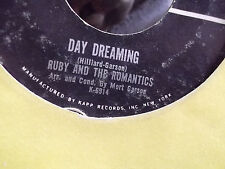 RUBY AND THE ROMANTICS YOUNG WINGS CAN FLY / DAY DREAMING ON KAPP W/ SLEEVE EX C