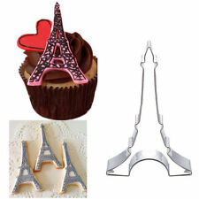 Venditore del Regno Unito Torre Eiffel Cookie Cutter Biscotto torta di Pane Stampo Muffa Cottura Al Forno