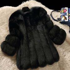 Neu Echt Fuchsjacke Fuchspelz pelzjacke pelzmantel Fox fur Coat Jacket