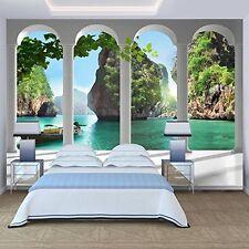 3D DESIGN FOTOTAPETE - VLIES - NATUR PARADIES - 350 x 245 cm - NEU