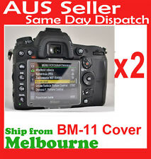2 x BM-11 LCD Monitor Cover for Nikon D7000 DSLR Digital Camera Screen Protector