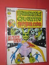 FANTASTICI QUATTRO 4-GIGANTE SERIE CRONOLOGICA-N° 13 i -DEL 1979-EDIZIONE CORNO