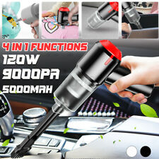More details for 4-in-1 cordless air blower handheld air duster mini 9000pa wireless keyboard car