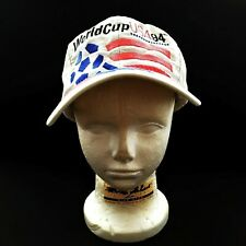 FIFA World Cup USA 94 Mens White Snapback Hat Cap One-Size Adidas Football VTG