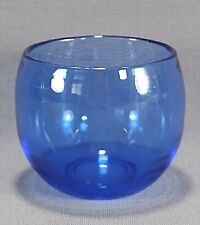 Glass Candle Tealight Votive Holder Cobalt Blue