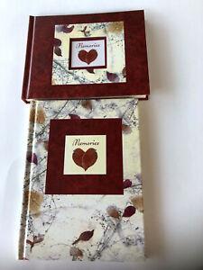 Photo Album & Journal New Seasons Memories Red Leaf Design Photos Sz 7x6 & 8x6
