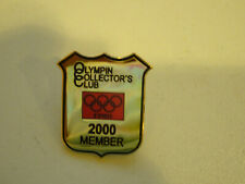 Rare 2000 Olympin Collectors Club Member Olympics Pin