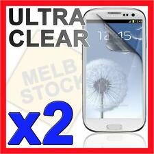 2x Ultra Clear LCD Screen Protector Film for Samsung Galaxy S3 SIII S 3 i9300