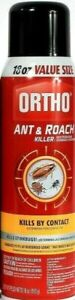 1 Ortho Ant and Roach Killer 18oz Value Size Kills By Contact Spray Aerosol Can