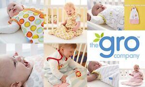 Grobag Baby Girl Boy Sleeping Bag Tog 2.5 Tog 3.5  0-6m 6-18m 18-36m Cool Temps