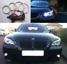 4 X Excellent SMD Angel Eyes kit For BMW E60 E61 525I 530I 545I 550I M5 2003-07