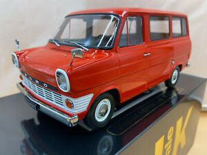 1/18 Ford Transit Kombi rot 1965 KK Scale KKDC180463 lim. 500 Stück OVP