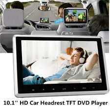 12V 10'' HD Car Back Seat DVD Player Headrest Mount TFT LCD Monitor USB/SD/HDMI