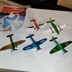 5-73, 74, 75 Matchbox Skybusters Fighter Propeller planes junker ramrod spitfire