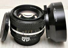 Nikon NIKKOR 50mm f1.4 Ai prime Manual focus lens. *Read Fully*