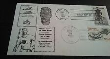 FIRST DAY STAMP COVER. . JIM THORPE. . MAY 24 1984..