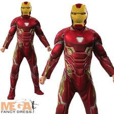 Iron Man Mens Fancy Dress Avengers Infinity War Superhero Adults Costume Outfit